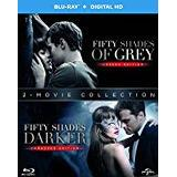 Fifty shades of grey dvd Filmer Fifty Shades Darker + Fifty Shades of Grey BD Double Pack BD + Digital Copy [Blu-ray] [2017]
